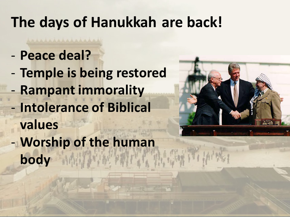 Hanukkah and the Battle for the Temple Mount 4/4  - The days of Hanukkah are back!